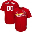 Toddler St Louis Cardinals Customized Red Cool Base Jersey