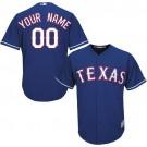Toddler Texas Rangers Customized Blue Cool Base Jersey