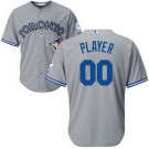 Toddler Toronto Blue Jays Customized Gray Cool Base Jersey