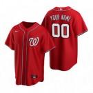 Toddler Washington Nationals Customized Red 2020 Cool Base Jersey