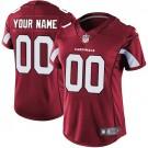 Women's Arizona Cardinals Customized Limited Red Vapor Untouchable Jersey