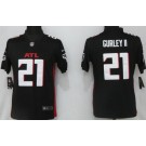 Women's Atlanta Falcons #21 Todd Gurley II Limited Black 2020 Vapor Untouchable Jersey