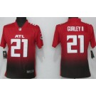 Women's Atlanta Falcons #21 Todd Gurley II Limited Red 2020 Vapor Untouchable Jersey