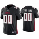 Women's Atlanta Falcons Customized Limited Black 2020 Vapor Untouchable Jersey