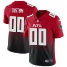 Women's Atlanta Falcons Customized Limited Red 2020 Vapor Untouchable Jersey