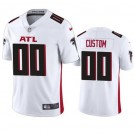 Women's Atlanta Falcons Customized Limited White 2020 Vapor Untouchable Jersey