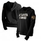 Women's Atlanta Hawks Black City Edition Pullover Hoodie