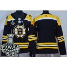 Women's Boston Bruins Blank Black 2019 Stanley Cup Finals Jersey