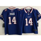 Women's Buffalo Bills #14 Stefon Diggs Limited Blue Vapor Untouchable Jersey