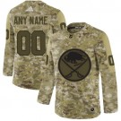 Women's Buffalo Sabres Customized Navy Camo Authentic Jersey