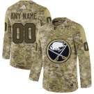 Women's Buffalo Sabres Customized Navy Camo Fashion Authentic Jersey