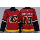 Women's Calgary Flames #13 Johnny Gaudreau Red Jersey