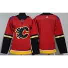 Women's Calgary Flames Blank Red Jersey