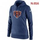 Women's Chicago Bears Printed Hoodie 0603