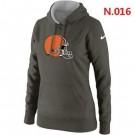 Women's Cleveland Browns Printed Hoodie 0803