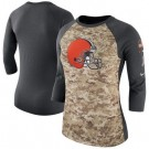 Women's Cleveland Browns Printed T Shirt 14928