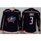 Women's Columbus Blue Jackets #3 Seth Jones Navy Jersey