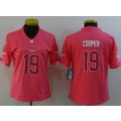 Women's Dallas Cowboys #19 Amari Cooper Limited Pink Vapor Untouchable Jersey