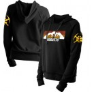 Women's Denver Nuggets Black City Pullover Hoodie