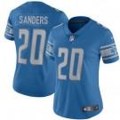 Women's Detroit Lions #20 Barry Sanders Limited Blue Vapor Untouchable Jersey