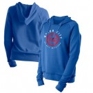 Women's Detroit Pistons Blue City Pullover Hoodie