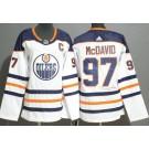 Women's Edmonton Oilers #97 Connor McDavid White Jersey