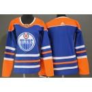 Women's Edmonton Oilers Blank Blue Alternate Jersey