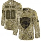 Women's Florida Panthers Customized Camo Authentic Jersey