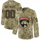 Women's Florida Panthers Customized Camo Fashion Authentic Jersey