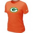 Women's Green Bay Packers Printed T Shirt 10956