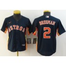 Women's Houston Astros #2 Alex Bregman Navy 2020 Cool Base Jersey