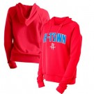 Women's Houston Rockets Red City Pullover Hoodie