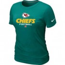 Women's Kansas City Chiefs Printed T Shirt 12308