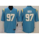 Women's Los Angeles Chargers #97 Joey Bosa Limited Powder Blue 2020 Vapor Untouchable Jersey