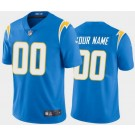 Women's Los Angeles Chargers Customized Limited Powder Blue 2020 Vapor Untouchable Jersey