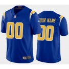 Women's Los Angeles Chargers Customized Limited Royal Blue 2020 Vapor Untouchable Jersey