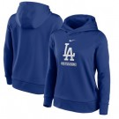 Women's Los Angeles Dodgers 2020 World Series Champions Pullover Hoodie 1007