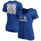 Women's Los Angeles Dodgers 2020 World Series Champions T Shirt 1017