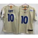 Women's Los Angeles Rams #10 Cooper Kupp Limited Bone 2020 Vapor Untouchable Jersey