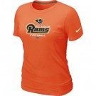Women's Los Angeles Rams Printed T Shirt 12186