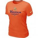 Women's Minnesota Vikings Printed T Shirt 12321