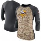 Women's Minnesota Vikings Printed T Shirt 15010