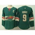 Women's Minnesota Wild #9 Mikko Koivu Green Jersey