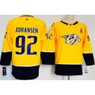 Women's Nashville Predators #92 Ryan Johansen Yellow Jersey