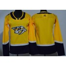 Women's Nashville Predators Blank Yellow Jersey