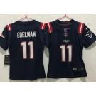 Women's New England Patriots #11 Julian Edelman Limited Navy 2020 Vapor Untouchable Jersey