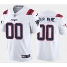 Women's New England Patriots Customized Limited White 2020 Vapor Untouchable Jersey