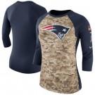 Women's New England Patriots Printed T Shirt 15030