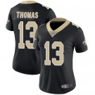 Women's New Orleans Saints #13 Michael Thomas Limited Black Vapor Untouchable Jersey