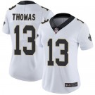 Women's New Orleans Saints #13 Michael Thomas Limited White Vapor Untouchable Jersey